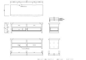 家具 図面1